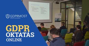GDPR oktatás Online
